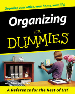 Organizing For Dummies book