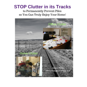 Stop Clutter in its Tracks
